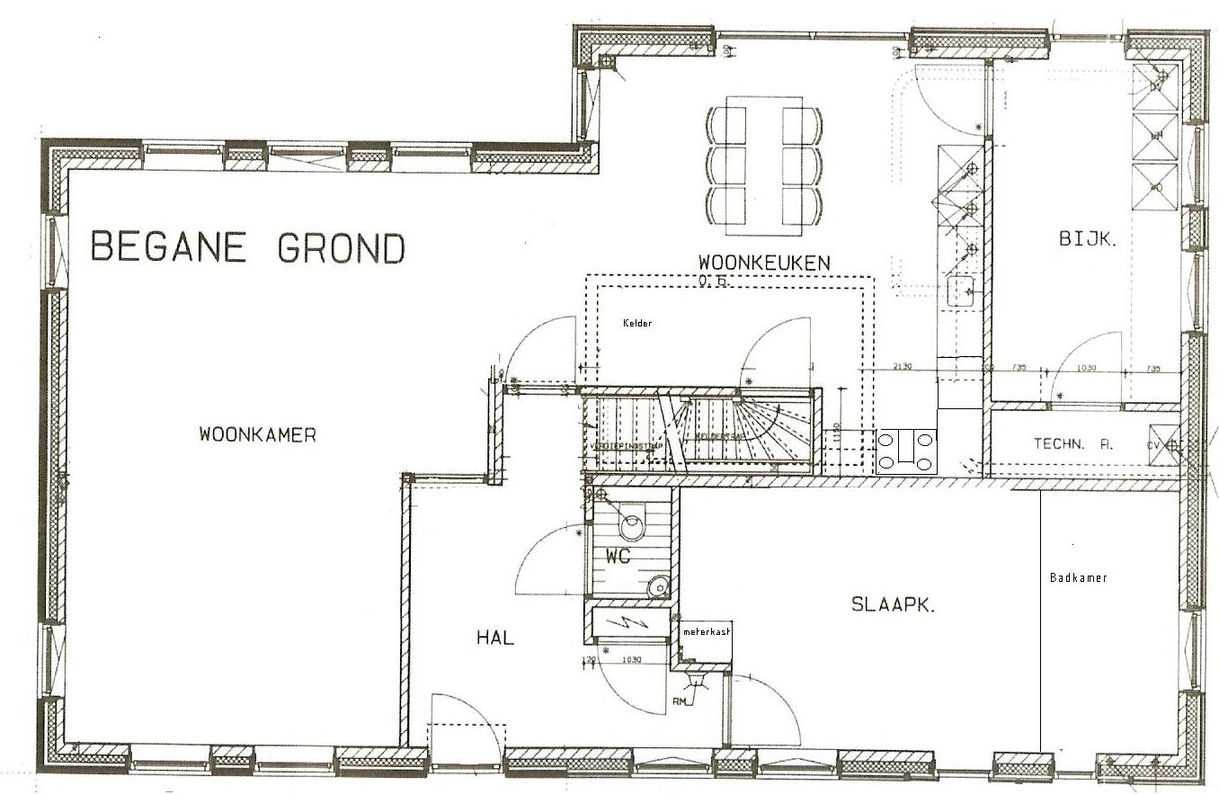 Aan 39 t poelweggetje plattegrond indeling for Plattegrond woning